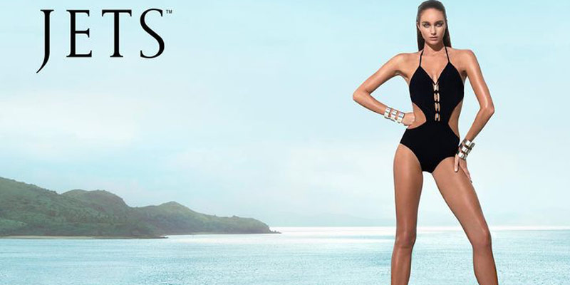Jets One Piece and Bikini Swimwear