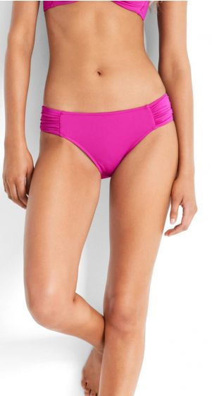 Seafolly Solids Ruched Side Retro Bikini Pant