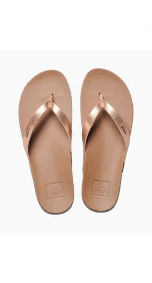 Reef Cushion Bounce Court Sandals -Rose Gold
