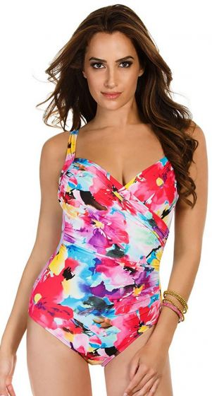 Miraclesuit Lovely Lady Sanibel One Piece - Slim Swimsuit