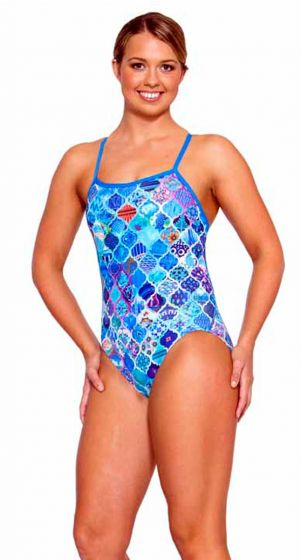 AMANZI Womens Wanderlust Proback Chlorine Resistant One Piece - WOMENS