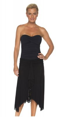 Togs Black Frill Skirt One Piece