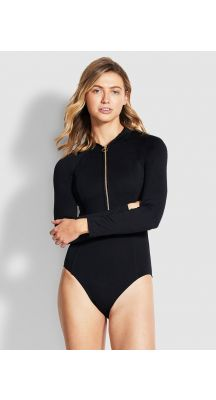 Seafolly Seafolly Zip Front Surfsuit