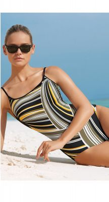 Sunmarin Rainbow End D Cup Strappy One Piece