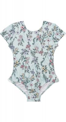 Seafolly Girls Mystical Garden Cut Out Tank