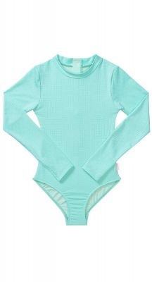 Seafolly Girls Summer Essentials Long Sleeve Surf Tank