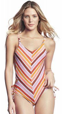 Maaji Praia Arco Iris One Piece Regular Rise Leg