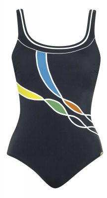 Sunflair E Cup Fruity Fantasy Chlorine Resistant One Piece Swimsuit