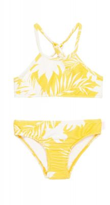 Seafolly Girls Mini Me Wild Tropics Rib Tankini