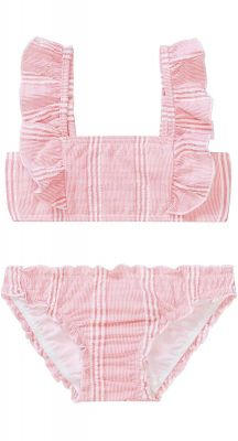 Seafolly Girls Bohemian Jardin Stripe Mini Tube Bikini