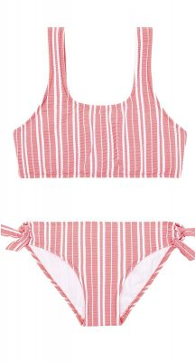 Seafolly Girls Tropical Vibes 80s Stripe Tankini