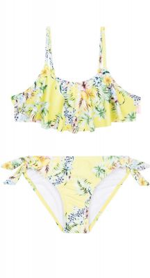 Seafolly Girls Hula Loa Ruffle Tankini