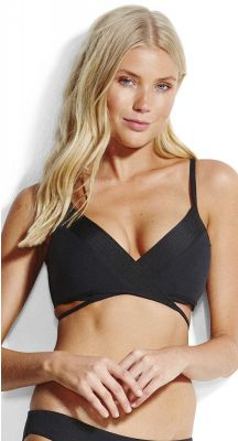 Seafolly Seafolly Quilted Wrap Front Booster Bikini Top