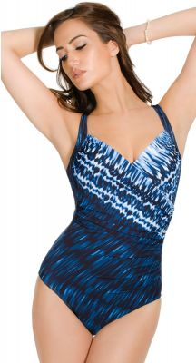 Miraclesuit Indigo-go Sanibel One Piece - Slim Swimsuit