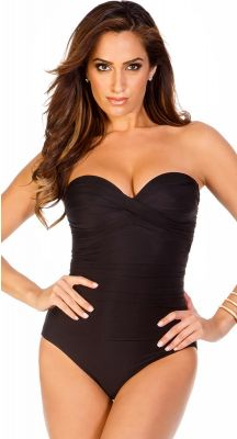 Miraclesuit Must Haves Barcelona Black Body Shaping Swimsuit