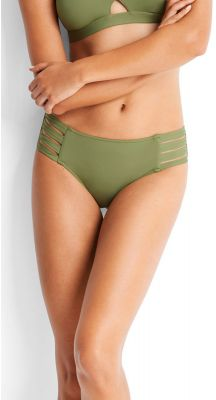 Seafolly Ladies Active Multi Strap Hipster Bikini Pant