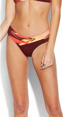 Seafolly Cut Copy Split Side Brazilian Bikini Pant