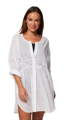 Monte + Lou Vacation Shirt Dress