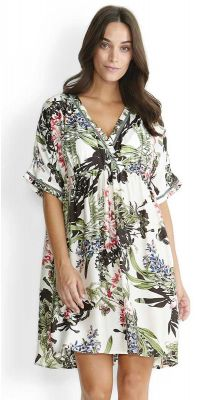 Milea Ferns and Flora wrap dress