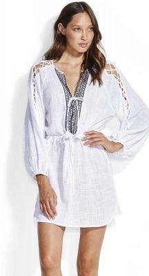 Seafolly Sun Worship Sleeve Detail Cover Up