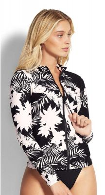 Seafolly Wild Tropics Long Sleeve Sunvest