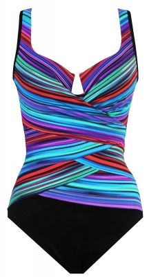 Miraclesuit True Colors Layered Escape Body Shaping Swimsuit