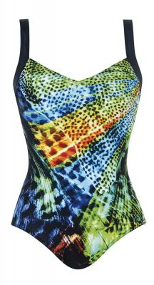 Sunflair Night Line E Cup Chlorine Proof One Piece