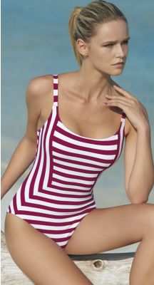 Sunflair Red Grip D Cup Tank One Piece