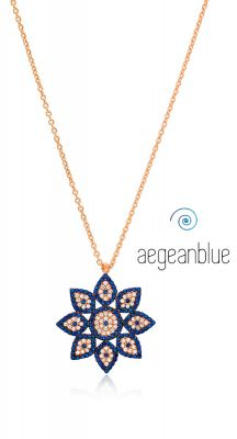 aegeanblue Omorfia Pendant Necklace