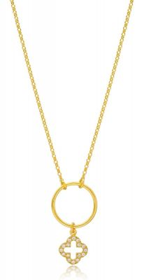 aegeanblue circle of love necklace - 925 Sterling silver in Rose Gold
