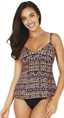 Baku Constantine D-E Cup Fitting Relaxed Fit Underwire Tankini Singlet
