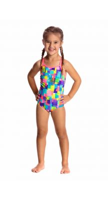 Funkita Toddler Girls Madam Monet Chlorine Resistant Swimsuit