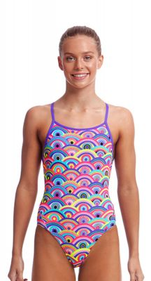 Funkita Girls Eye Candy Diamond Back One Piece