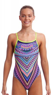 Funkita Girls Charm Armour Single Strap One Piece
