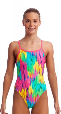 Funkita Girls Ruffles Single Strap One Piece