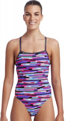 Funkita Mesh Mash Strapped In Ladies Chlorine Resistant One Piece