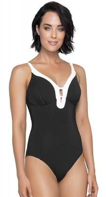 Jets Classique E-F Cup Bra Fitting Underwire One Piece Swimsuit