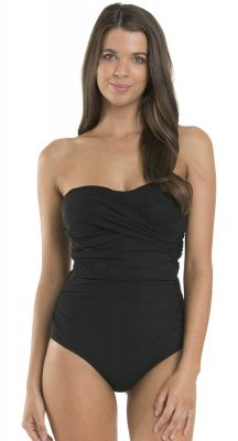 Jets Contour D-Dd Cup Fittingbandeau One Piece Swimsuit