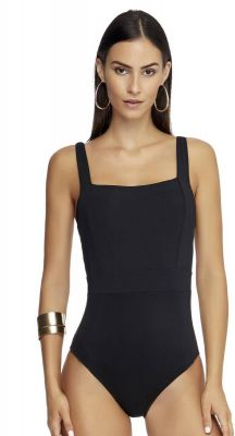 Jets Jetset Square Neck One Piece Swimsuit