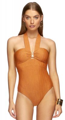 Jets Radiance Bandeau One Piece Swimsuit