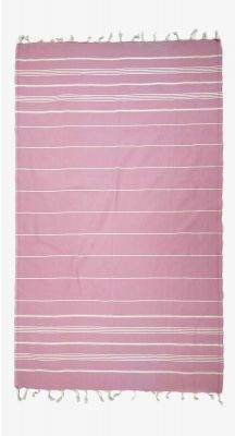 Aegeanblue Mykonos Traditional Turkish Towel - Light Pink