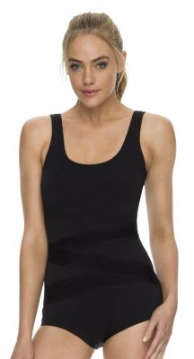 Poolproof Pin Tuck One Piece - Mastectomy Suitable