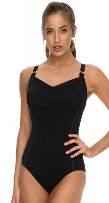 Poolproof Classics Harlow Chlorine Resistant One Piece Swimsuit