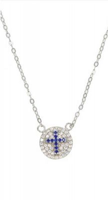 Aegeanblue Polis Beach Chappel Necklace - Sterling Silver