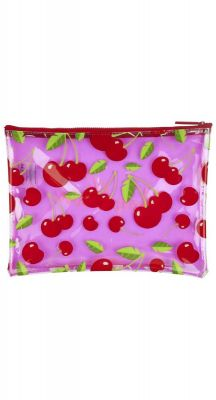Sunny Life Cherry See Thru Pouch