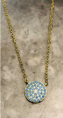 Santorini Necklace - Gold