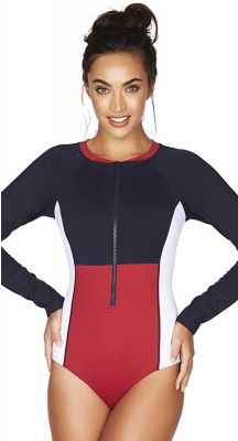 Sea Level Essentials Long Sleeve Multifit One Piece