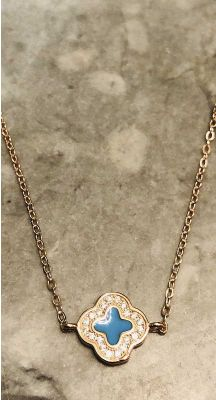 Sophia Necklace - Rose Gold