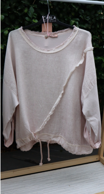 Your Favourite Drawstring Top - Made in Italy