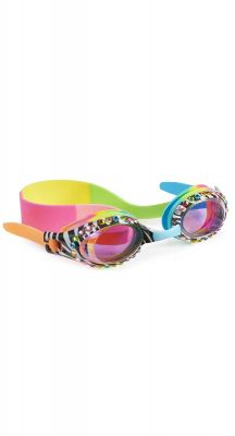 Bling20 Zebra Black Multi Zebra Crossing Girls Goggles